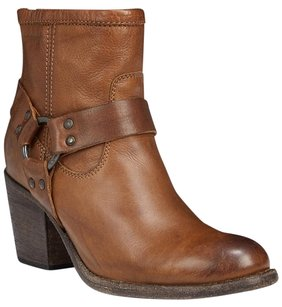 Frye Leather Bootie Tabitha Brown Boots
