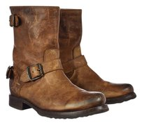 Frye Mid Calf Brown Boots