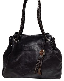 Furla Italy Chocolate Shoulder Bag