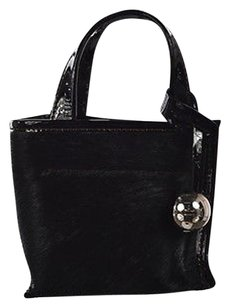 Furla Womens Leather Satchel in Black
