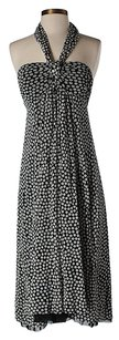 Maxi Dress by Fuzzi Sleeveless Polyamide Print