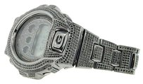 G-Shock G-shockg Shock 10ct. Black Simulated Diamond Custom Bezel Joe Rodeo Band Watch