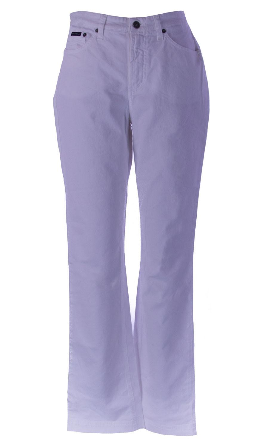 85%OFF Gant Womens White Classic Twill Stretch Jeans 421181 135 ...