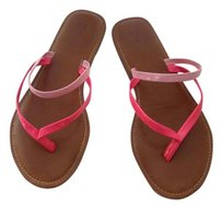 Gap Leather Pink, Hot Pink Sandals