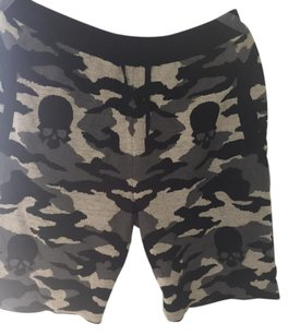 Gemma.h uomo Shorts Black grey