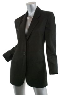 Genny Classic 100 Silk Faille Black Jacket