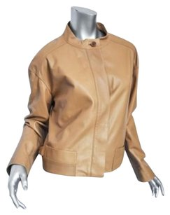 GERARD DAREL Womens Tan Brown Browns Jacket