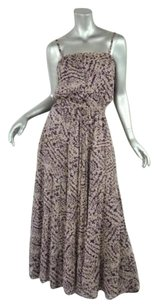 Multi-Color Maxi Dress by GERARD DAREL Long Purple
