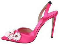 Giambattista Valli Satin Pink Pumps