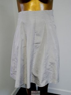 Gianfranco Ferre Italy Light Skirt Gray