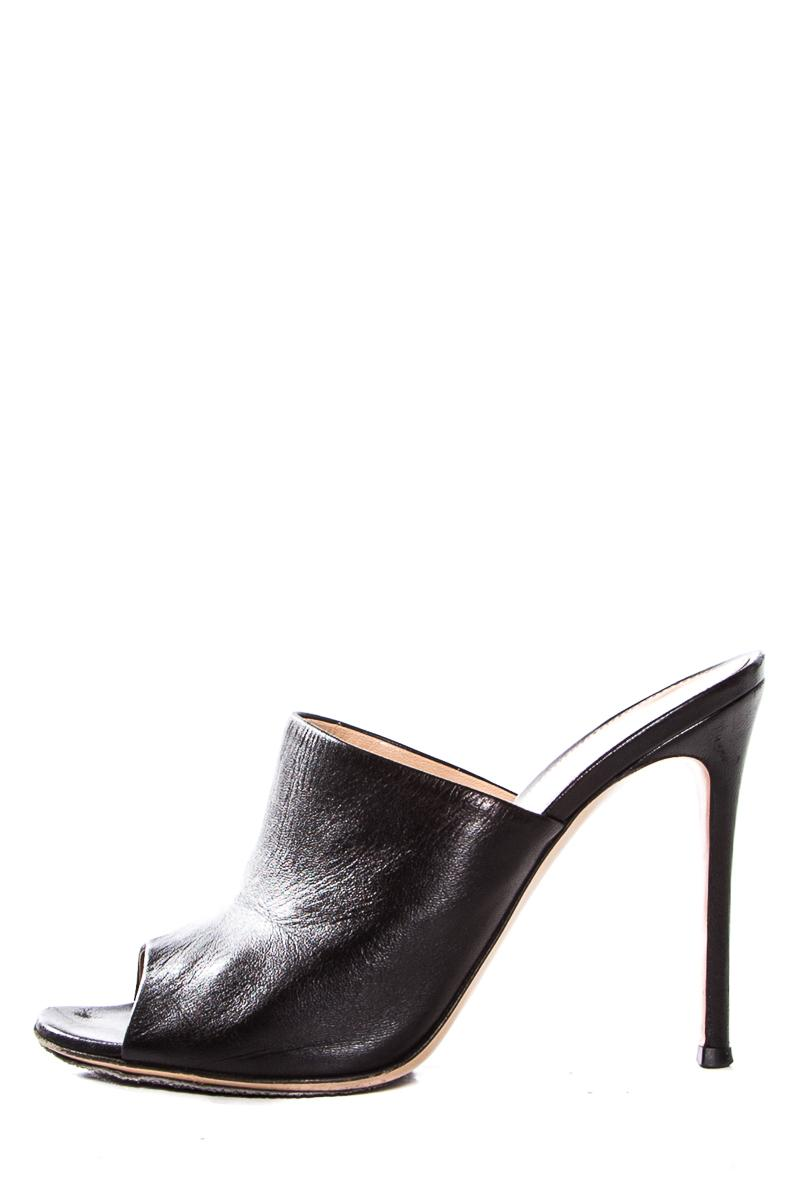 Gianvito Rossi Leather Mules & Clogs Great Deals Cheap Price Clearance Visit New Cheap Sale Recommend Sale Collections Visit TGDUBo