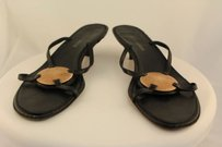 Giorgio Armani Womens Black Sandals