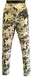 Gitanilla White Green Floral Leggings