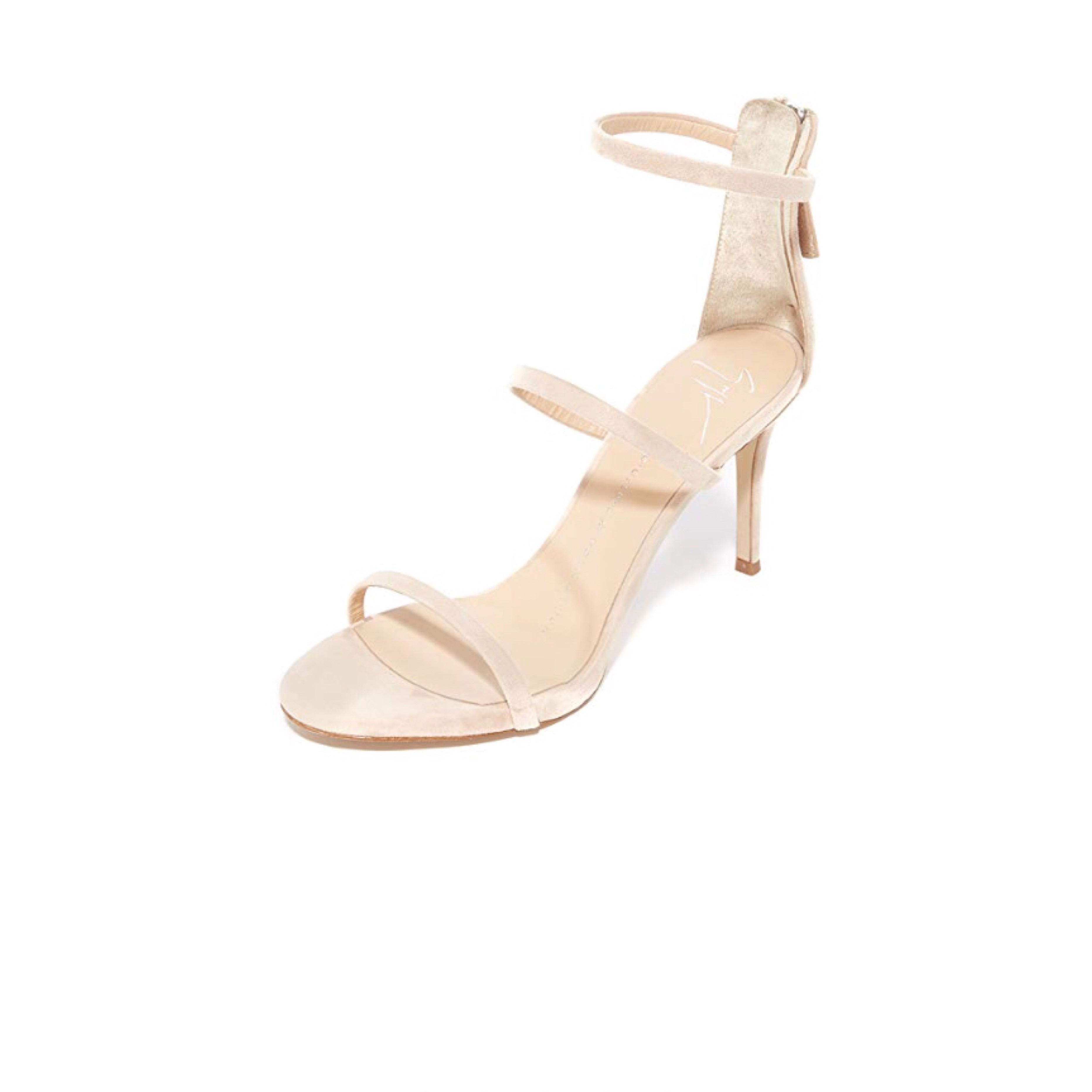 Giuseppe Zanotti Tan Alien Strappy Sandals Size US 6 Regular (M, B)
