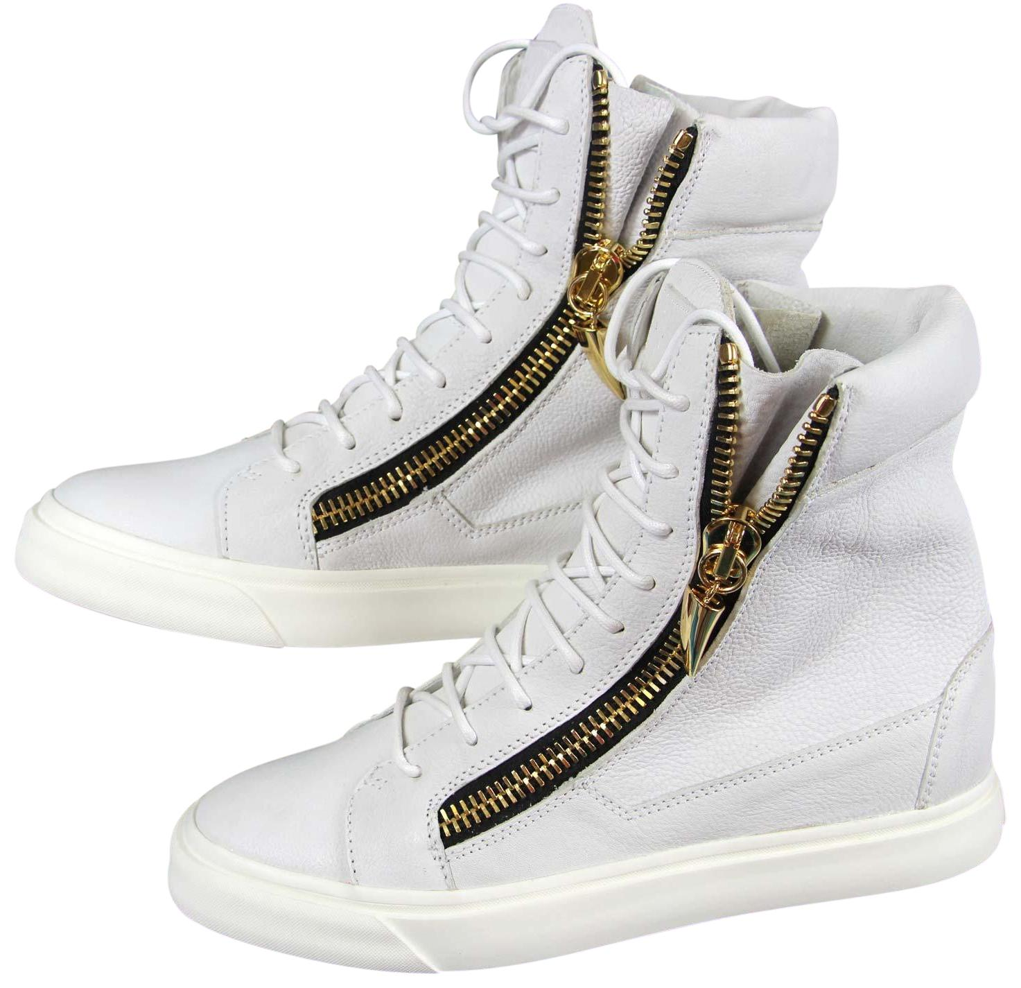 best loved 7b9b0 7be22 Gentlemen/Ladies——Giuseppe Zanotti White White White New Gz ...