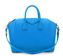 Givenchy Antigona Grained Tote in Blue