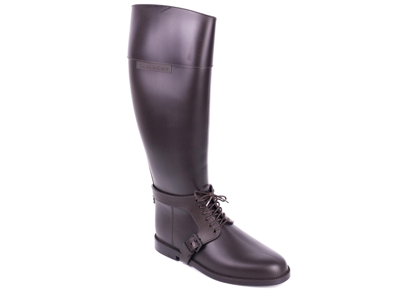 lowest price clearance looking for Givenchy Brown Rubber Equestrian... outlet locations sale online cwOqwsUtS