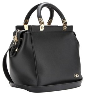 Givenchy Gold Hardware Nightingale Pandora Antigona Celine Satchel in Black