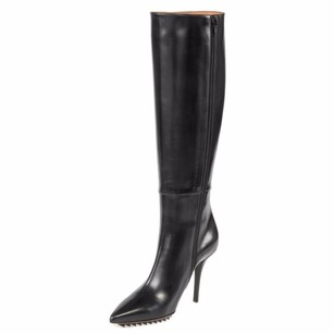 Givenchy Leather Heel Black Boots