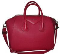 Givenchy Leather Pink Antigona Tote in Magenta
