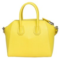 Givenchy Mini Antigona Leater Tote in Yellow
