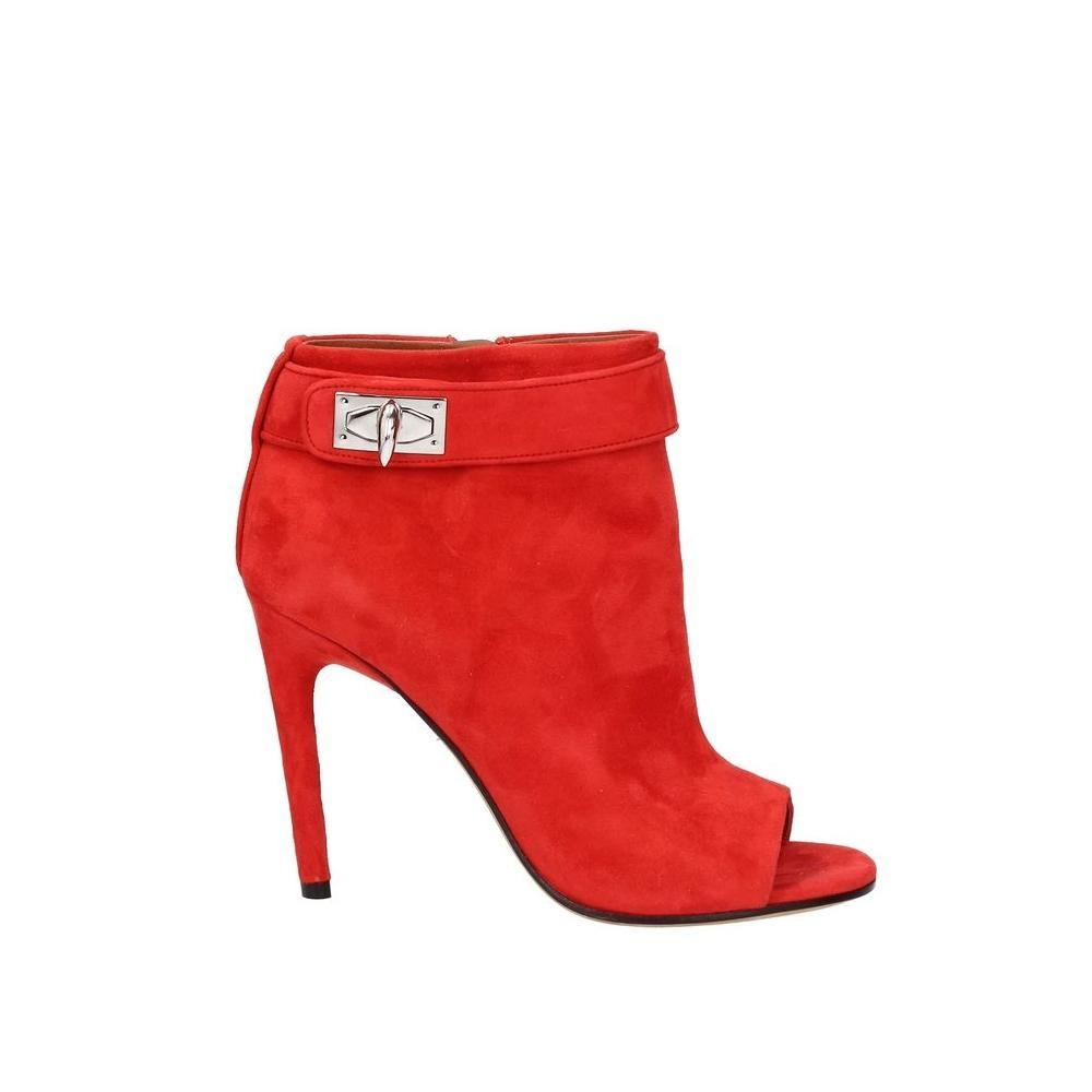 Givenchy Red Ankle Boots/Booties Size EU 36.5 (Approx. US 6.5) Regular (M, B)