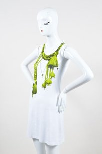 Givenchy White Cotton Neon Dress