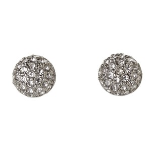 Givenchy Silver-Tone Embellished Stud Earrings