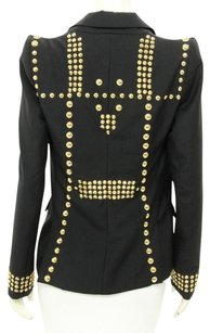 Givenchy Studded Wool Single Button black Blazer
