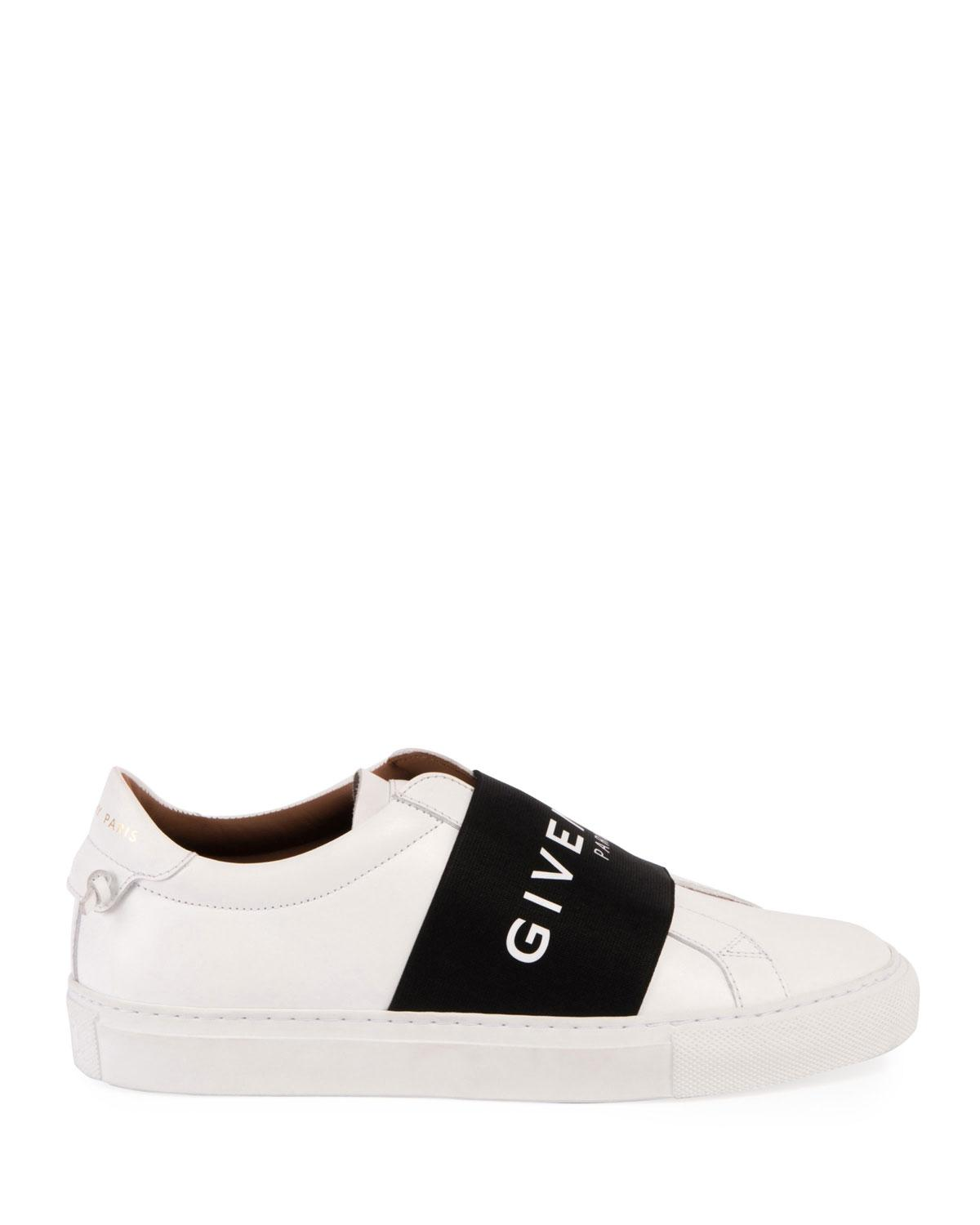 e718ada0219 ... Givenchy White Urban Knot Logo Logo Logo Band Leather Sneakers 35  Sneakers Size US 5 Regular ...