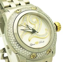 Glam Rock Glam Rock Palm Beach Collection Diamond Accented Stainless Steel 40mm Watch W33