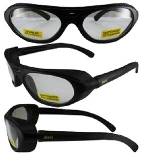 Global Vision Eyewear Rawhide Clear Lens ANSI Z87.1+ Eye Protection Including Side Buffers