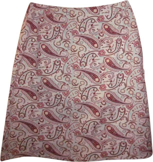 GNW Paisley Skirt Multi-color