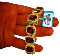 Gold mafia LAB RUBY BRACELET