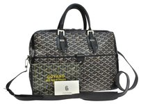 Goyard Ambassade Brown Tan Beige Messenger Bag