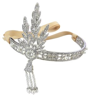 Great Gatsby Headband Baroque Hair Jewelry