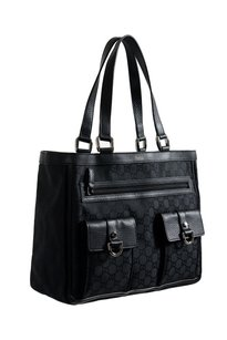 Gucci Shoppers Tote in Black