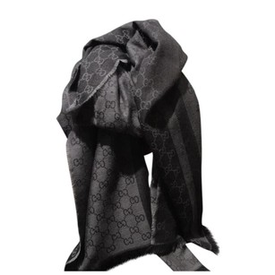 Gucci wool and silk blend scarf
