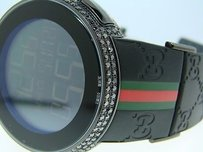 Gucci Black Diamond Full Case I Gucci Digital Diamond Watch