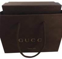 Gucci Black Leather W/ Polished Buckle