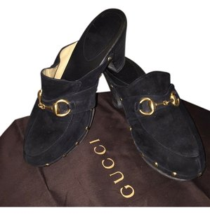 Gucci Black Mules