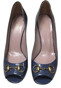 Gucci Blue Pumps