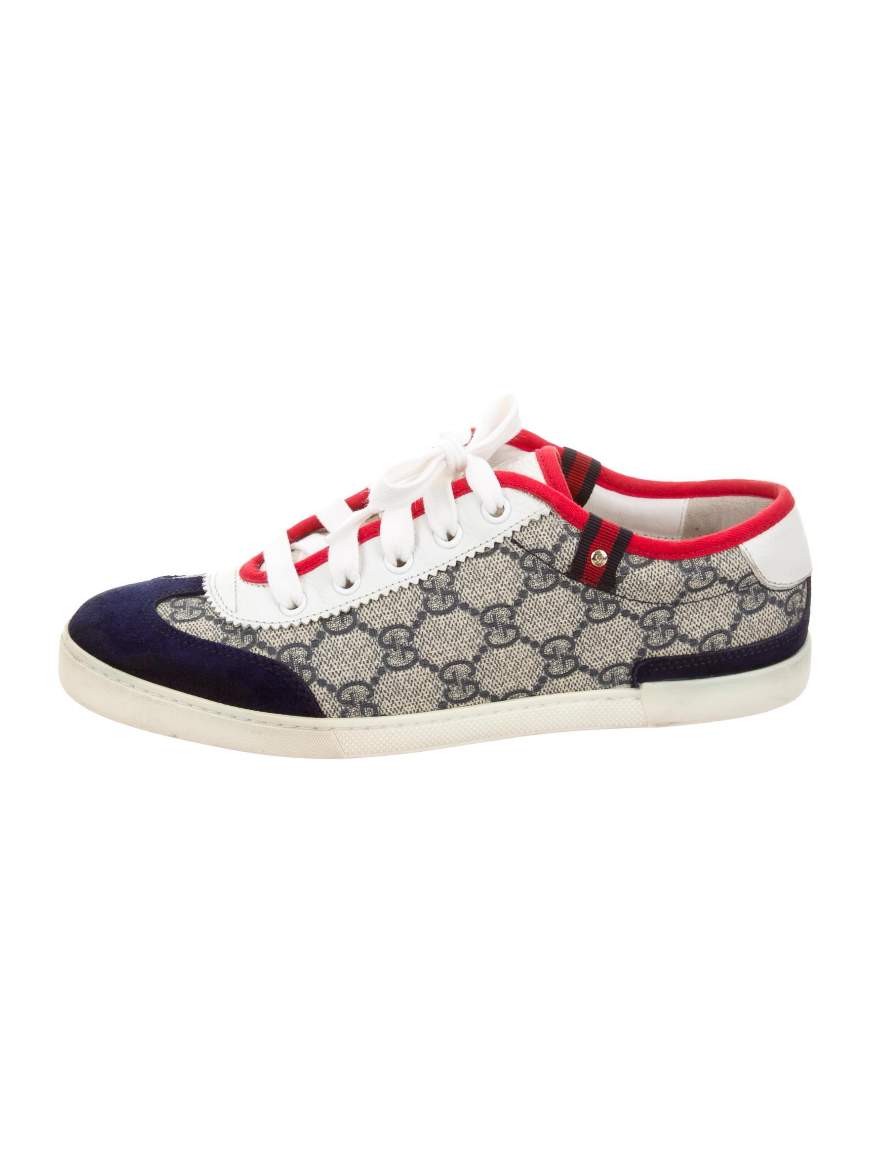 gucci sneaker blue white red women athletic shoes