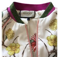 Gucci bomber White Jacket