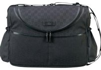 Gucci Black Diaper Bag