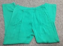 Gucci Vintage Silk Pleated Fornt Straight Leg Dress Sma 4059 Pants