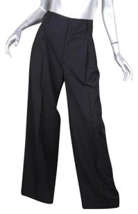Gucci Womens Classic Wool Pleated Dress Trousers 426 Pants
