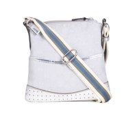Gucci Fabric Jacquard Leather Shoulder Bag
