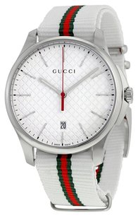 Gucci G-Timeless Black Dial Stainless Steel Men's Watch
