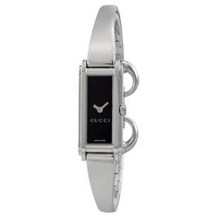 Gucci Gucci Black Stainless Dress Ladies Watch